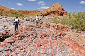 banded iron layers