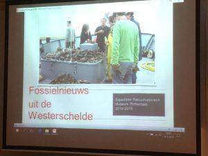 lezing fossielen uit de Westerschelde door Klaas Post