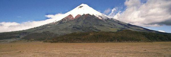 vulkaan Cotopaxi Ecuador