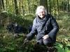 Anja bij groeve Hartenberg