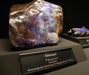 Opaal, Queensland, museum Freiberg