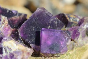 Fluorite from Berbes, Spain