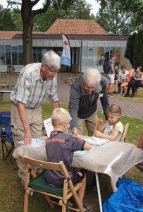 Borger oertijdmarkt Geologiekring Friesland