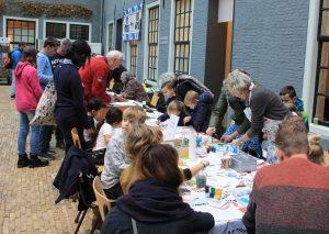 kinder activiteit geakring Friesland