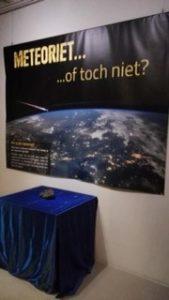 expositie meteoriet of niet