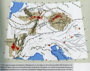 vulkaan gordels in Duitsland. lezing Pim Beukenkamp