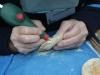 Jan Verburg, prepareren van fossielen