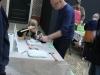 gipshakken voor de kids, met Albert Lefferts en Hans Hoekzema