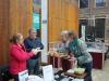 de catering was dit jaar weer perfect! Corrie Kruiswijk en Angé Nieuwenhuis